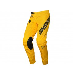 Pantalon Cross ANSWER ARKON BOLD 2020 Jaune