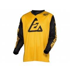 Maillot Cross ANSWER ARKON BOLD 2021 Jaune - Noir