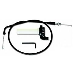 Kit Poignées Quad CR-COMPETITION + Câbles MOTION PRO pour Yamaha Warrior / Big Bear / 400 4x4