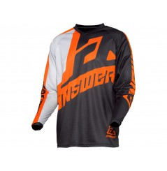 Maillot Cross ANSWER SYNCRON VOYD 2021 Noir - Blanc - Orange