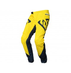 Pantalon Cross ANSWER SYNCRON PRO GLOW 2021 Noir - Jaune