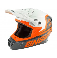 Casque Moto Cross ANSWER AR1 VOYD 2020 Noir - Blanc - Orange