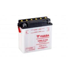 Batterie Moto YUASA 12N5.5-4A ( Y12N5.5-4A )