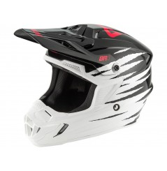 Casque Moto Cross ANSWER AR1 PRO GLOW 2020 Noir - Blanc