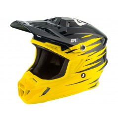 Casque Moto Cross ANSWER AR1 PRO GLOW 2021 Noir - Jaune