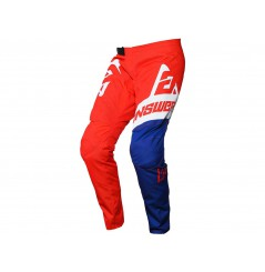 Pantalon Cross Enfant ANSWER SYNCRON VOYD 2020 Bleu - Blanc - Rouge