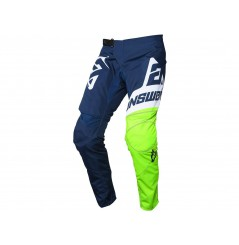 Pantalon Cross Enfant ANSWER SYNCRON VOYD 2020 Bleu - Blanc - Jaune