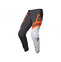 Pantalon Cross Enfant ANSWER SYNCRON VOYD 2020 Noir - Blanc - Orange