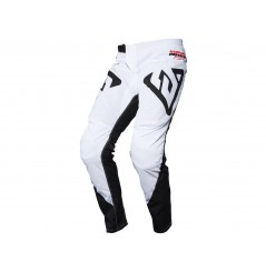 Pantalon Cross Enfant ANSWER SYNCRON PRO GLOW 2020 Noir - Blanc - Rose