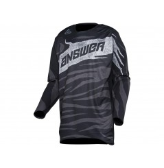 Maillot Cross ANSWER ELITE OPS 2021 Noir - Gris