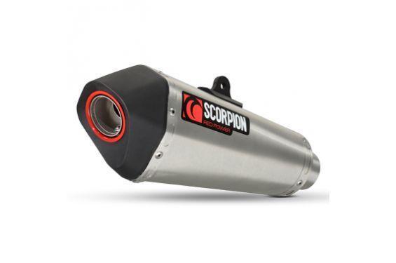Silencieux d'échappement Moto Scorpion Serket Inox pour Suzuki GSX-R600 (06-07)