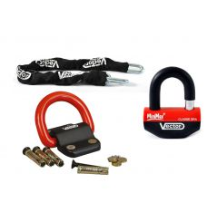 Pack Antivol SRA Chaine 1.30m + MinimaxPlus + Compac Blok