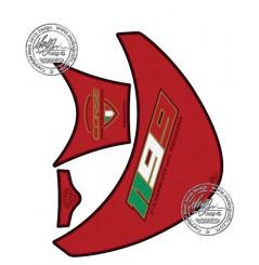 Protection de Réservoir Moto Rouge pour DUCATI 1199 Panigale (12-15)