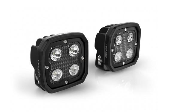 Kit Eclairage Additionnel Moto - Quad DENALI D4 Led 4x10w - 8760 Lumens