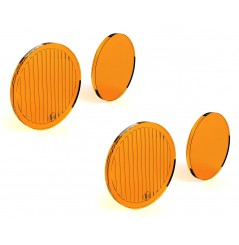 Lentilles TriOptic™ Orange pour Feux Additionnel Moto - Quad DENALI D2 Led