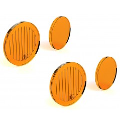 Lentilles TriOptic™ Orange pour Feux Additionnel Moto - Quad DENALI DM Led