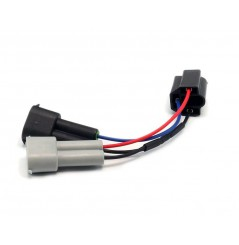 Adaptateur de Câble H4 vers H9 / H11 pour Phare DENALI M5 - M7