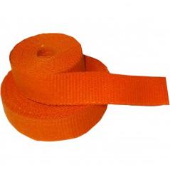 Bande Thermique D'échappement en Fibre de Verre CYCLE (51mm x 15m) Orange