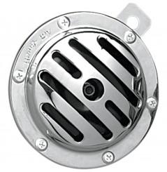 Klaxon - Avertisseur Sonore Rainuré 12v - 113dB DRAG SPECIALTIES pour Moto - Quad - Sccoter