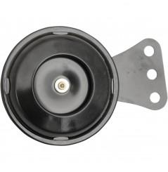 Klaxon - Avertisseur Sonore Noir 12v - Ø70mm - 105dB K&S pour Moto - Quad - Sccoter