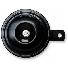 Klaxon - Avertisseur Sonore Noir 12v - Ø92mm - 110dB K&S pour Moto - Quad - Sccoter