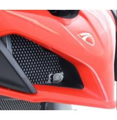 Protection de Radiateur d'huile R&G pour Multistrada 1200 (15-17) Multistrada 1260 (17-19)