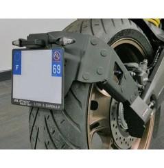Support de Plaque Moto Déporté Access Design pour CB 650 R (19-20) CBR 650 R (19-20)