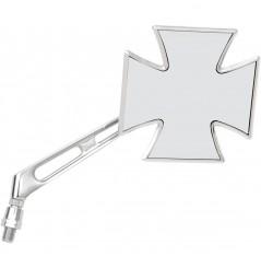 Rétroviseur Moto Droit Universel EMGO Croix de Malte
