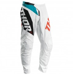 Pantalon Cross THOR SECTOR BLADE 2020 Blanc - Bleu