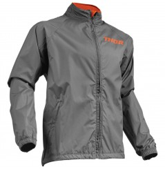 Veste Enduro - Cross THOR PACK Gris - Orange
