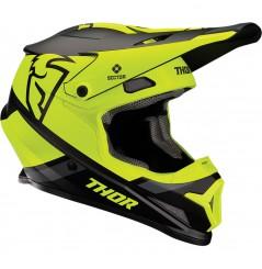 Casque Moto Cross THOR SECTOR SPLIT MIPS 2020 Noir - Jaune