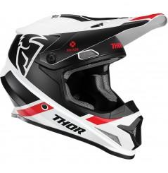 Casque Moto Cross THOR SECTOR SPLIT MIPS 2020 Noir - Blanc - Rouge