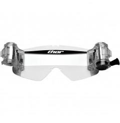 Écran Roll Off THOR TOTAL VISION SYSTEM pour Masque Moto Cross SNIPER & COMBAT