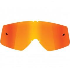 Écran Iridium Orange THOR pour Masque Moto Cross SNIPER & COMBAT