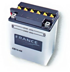 Batterie Moto CB14-A2 ( YB14-A2 / BB14-A2 )