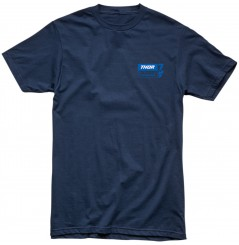 T-Shirt Manche Courte - Col Rond - THOR PLESSINGER 7 TEE Bleu