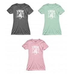 T-Shirt Femme Manche Courte - Col Rond - THOR LIGHTNING 2021