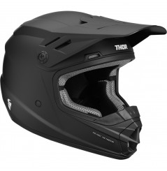 Casque Moto Cross Enfant THOR SECTOR SOLID 2020 Noir