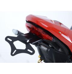 Support de Plaque Moto R&G pour Ducati Monster 1200 et 1200 S (2017) Supersport et S (17-19)