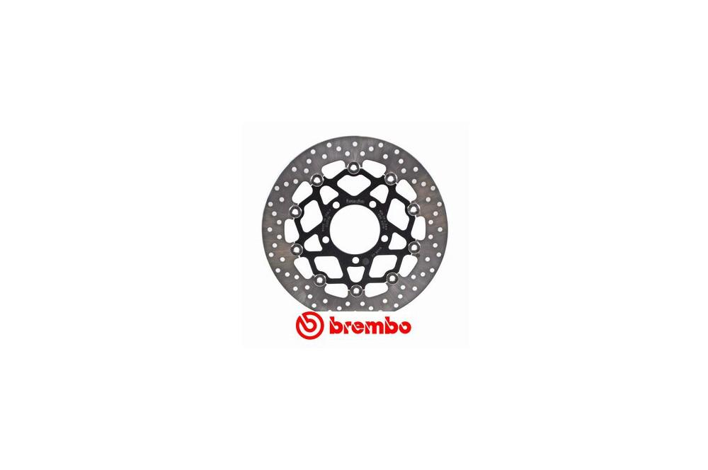 disque de frein avant brembo zx6r 07 14 er6 06 17 z750 07 13 street moto piece. Black Bedroom Furniture Sets. Home Design Ideas