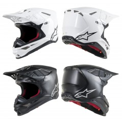 Casque Moto Cross ALPINESTARS SUPERTECH SM10 SOLID - ECE 2020