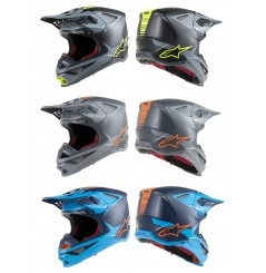Casque Moto Cross ALPINESTARS SUPERTECH SM10 META - ECE 2020