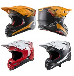 Casque Moto Cross ALPINESTARS SUPERTECH SM10 DYNO - ECE 2020