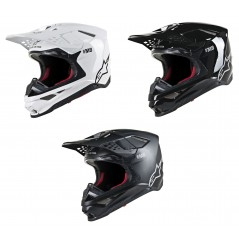 Casque Moto Cross ALPINESTARS SUPERTECH SM8 SOLID - ECE 2020