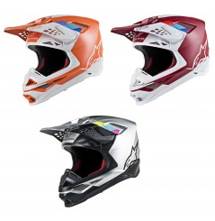 Casque Moto Cross ALPINESTARS SUPERTECH SM8 CONTACT - ECE 2020