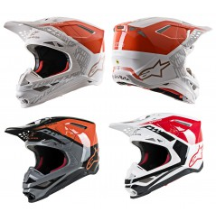 Casque Moto Cross ALPINESTARS SUPERTECH SM8 TRIPLE - ECE 2020