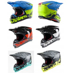 Casque Moto Cross ALPINESTARS SUPERTECH SM8 RADIUM - ECE 2020