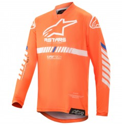 Maillot Cross Enfant ALPINESTARS RACER TECH GEAR 2020 Orange