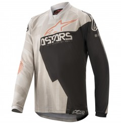 Maillot Cross Enfant ALPINESTARS RACER FACTORY GEAR 2020 Gris