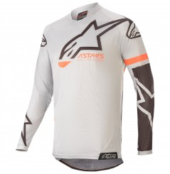 Maillot Cross Enfant ALPINESTARS RACER COMPASS GEAR 2020 Gris